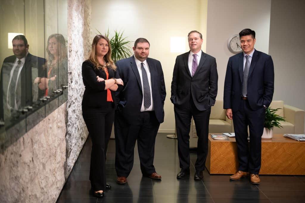 OFW Law team in lobby