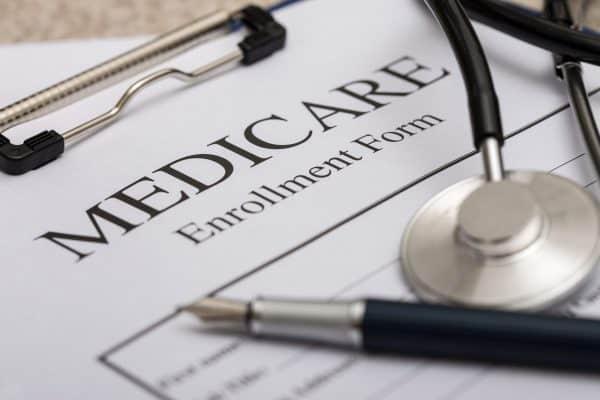 unfilled medicare enrollment form