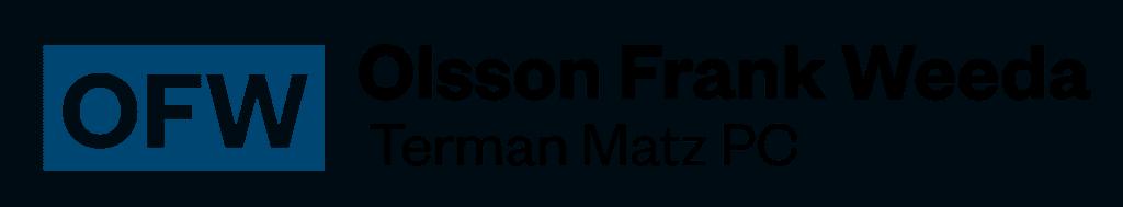 Olsson Frank Weeda logo