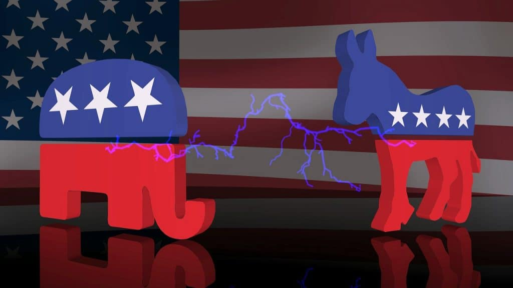 Presidential Election Republicans and Democrats